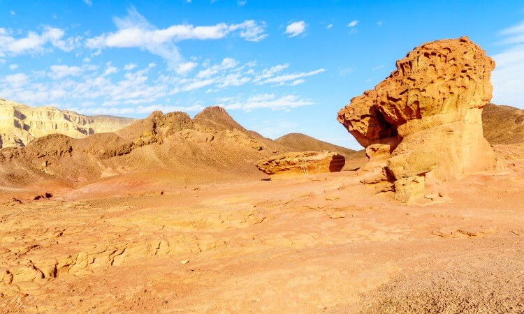 sandstone mountains of Timna Park