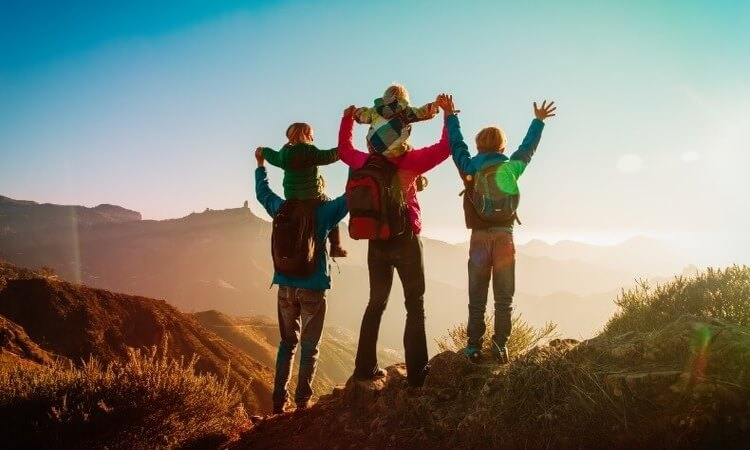 4 Best Family Hiking Vacations