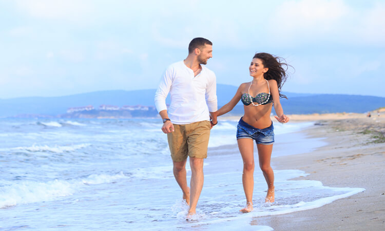 Top Honeymoon Beaches Sand Sea And Sky With Your Other Half