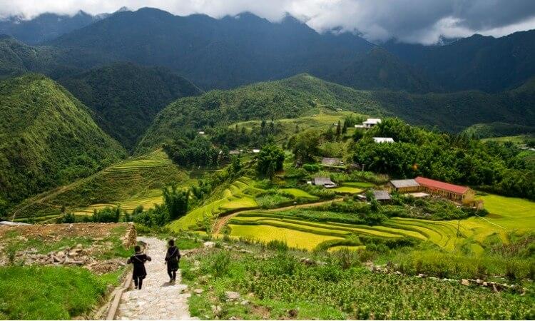 Trekking Sapa, Vietnam